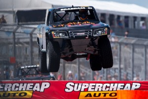 Matt Brabham will race a Stadium Super Truck again at the Clipsal 500 Adelaide
