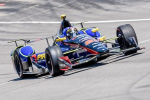 Matt Brabham is continuing his preparations towards his first Indy 500 qualifying