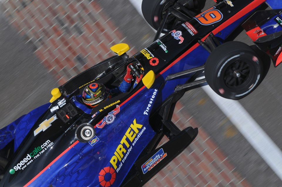 Matt Brabham and PIRTEK Team Murray take to the Yard of Bricks as IndyCar rookies